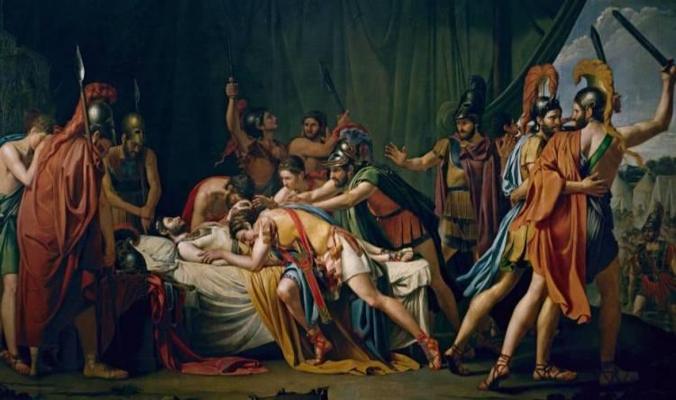 De dood van Viriato - José Madrazo, 1807