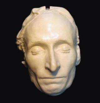 Dodenmasker van Blaise Pascal