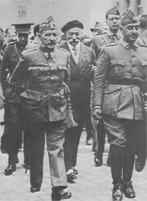 Franco in Burgos 1936