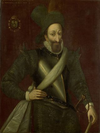 Koning Hendrik IV van Frankrijk, Jacob Brunel, 1592, Rijksmuseum