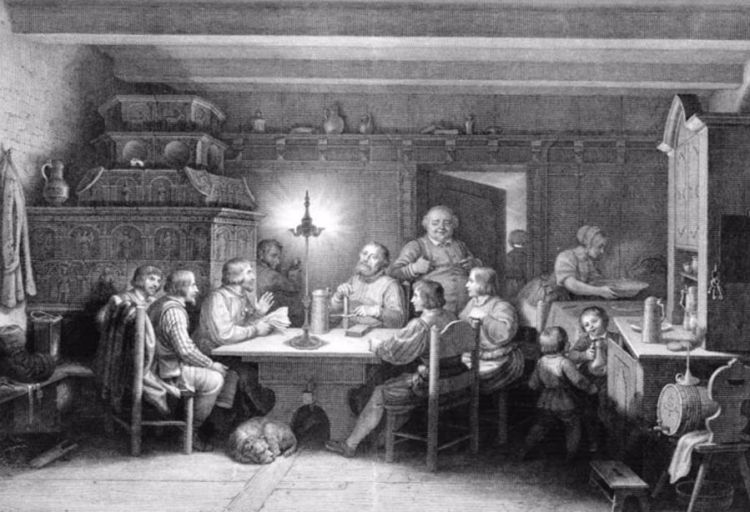 Maarten Luther in de Schwarzer Bär