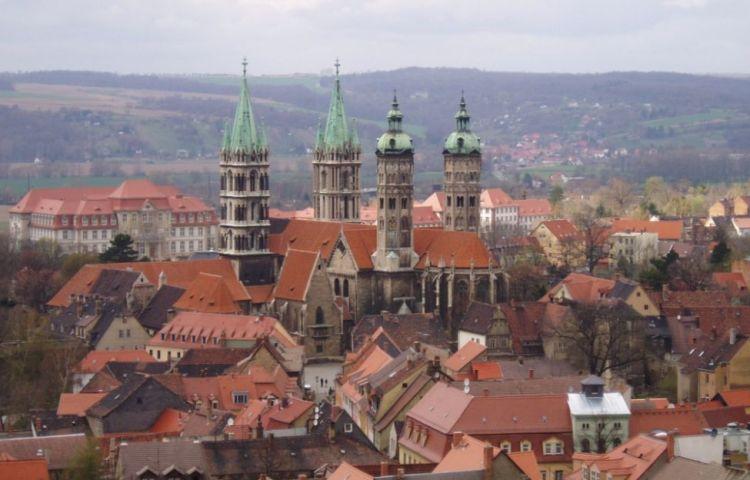 Naumburg, met zicht op de Dom - cc