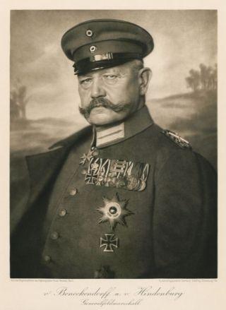 Paul von Hindenburg, 2e Rijkspresident van Duitsland