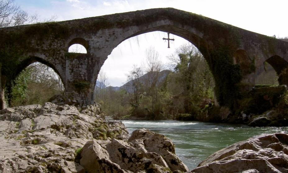 Romeinse brug in Cangas de Onís - cc