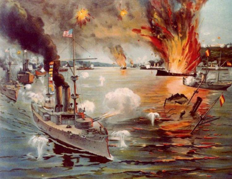 Slag in de Baai van Manilla - Onderdeel van de Spaans Amerikaanse Oorlog
