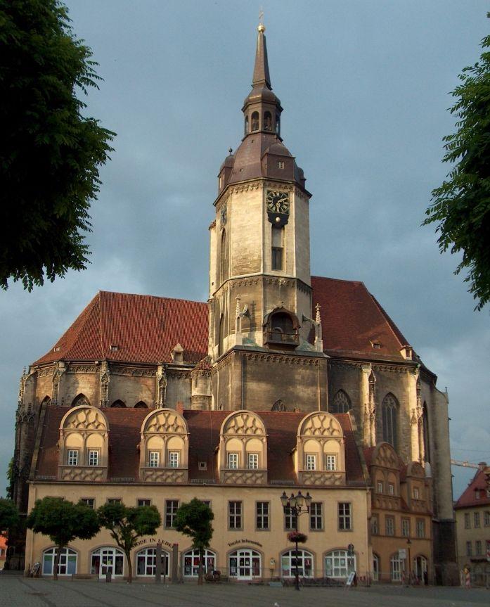 St. Wenzel Stadtkirche (cc - Christian Bier)