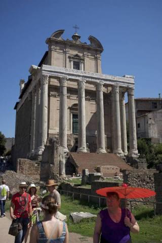 Tempel van Antoninus (Alexander Smarius)