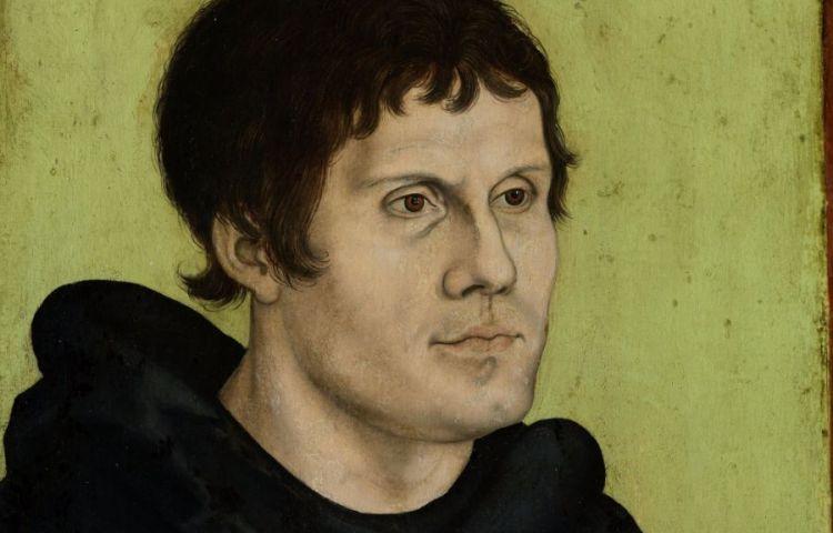 Luther als monnik - Atelier Lucas Cranach de Oude