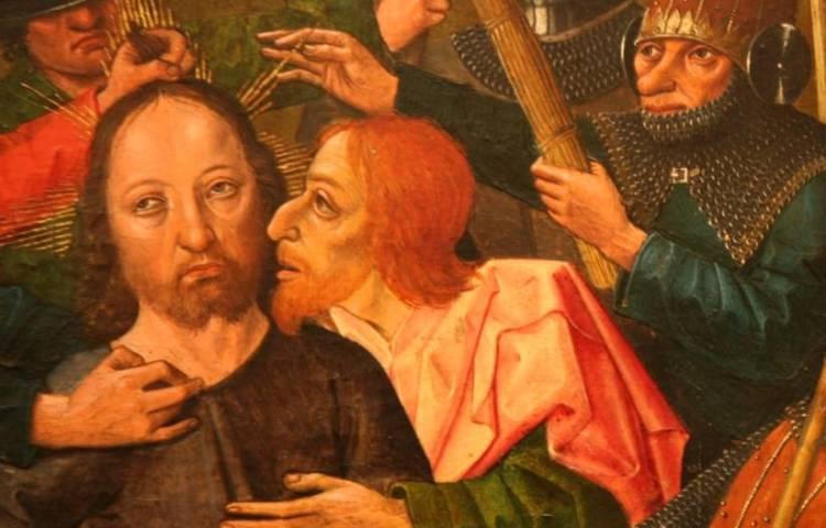 De Judaskus - Jezus en Judas Iskariot (Haut-Rhin Alsace)