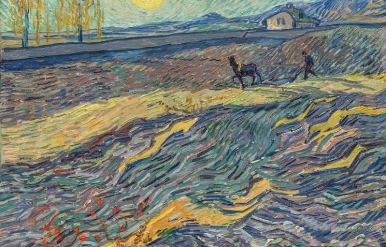 Laboureur dans un champ - Vincent van Gogh (Christies)