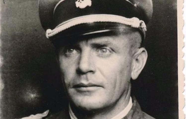 Portret van SS-generaal Heinz Harmel (Airborne Museum)