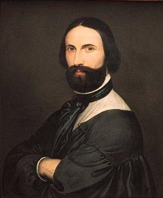 Zelfportret van Antoine Wiertz, datering onbekend