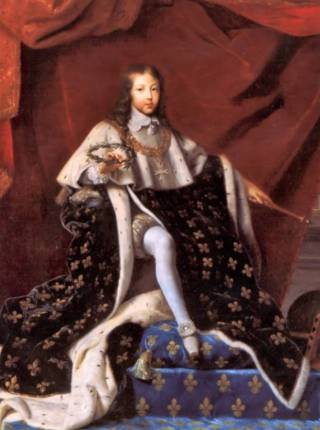 Lodewijk XIV in 1648 - Henri Testelin