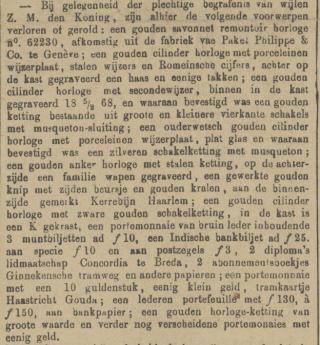 Delftsche courant - 07-12-1890 (Delpher)
