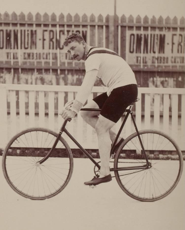Jaap Eden in 1896 - Jules Beau