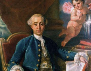 Portret van Giacomo Casanova