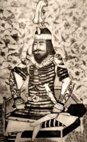 Vijftiende-eeuws portret van Timoer Lenk