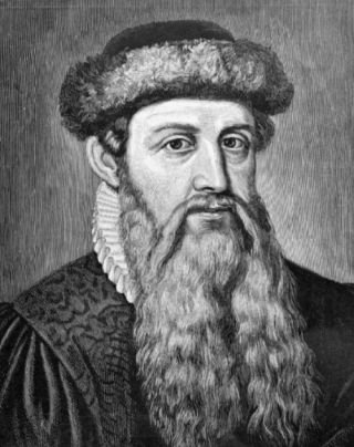 Johannes Gutenberg (postuum portret)