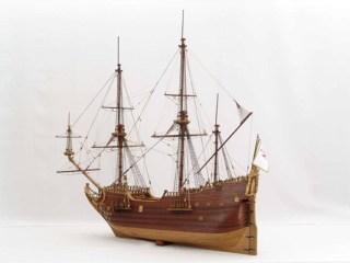 Model van een fluitschip (wiki - Michael Czytko)
