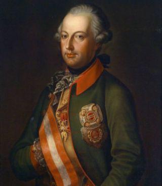 Portret van keizer Jozef II in uniform, ca. 1780