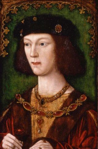 Hendrik VIII op achttienjarige leeftijd, na zijn kroning in 1509