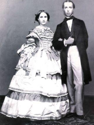 Maximiliaan en Charlotte