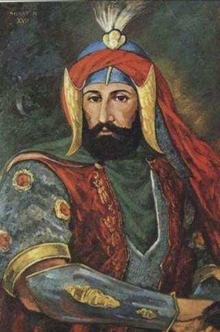 Ibrahims broer,  sultan Murat IV