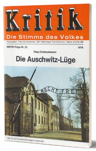 Thies Christophersen - De Auschwitz Leugen