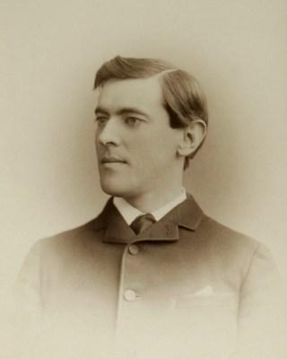 Woodrow Wilson in de jaren 1870