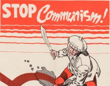Containmentpolitiek - Detail van een anti-communistische poster uit Amerika, 1951 (wiki)