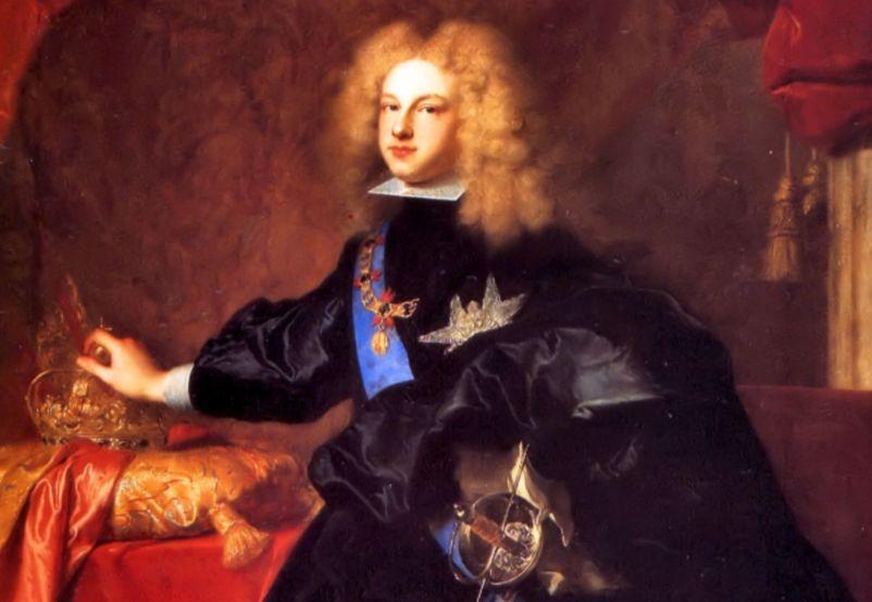 Filips V van Spanje (1683-1746) - Koning regeerde ruim 45 jaar