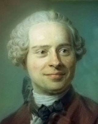 Jean le Rond d'Alembert, mede-auteur van Encyclopédie