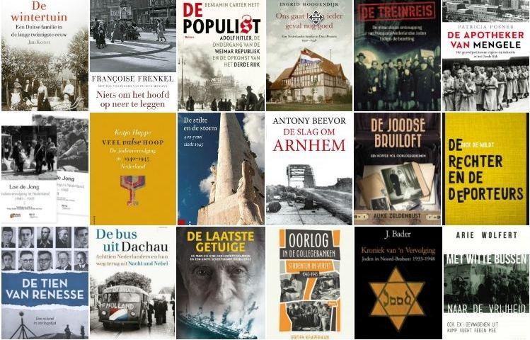 Nieuwe geschiedenisboeken over de Tweede Wereldoorlog