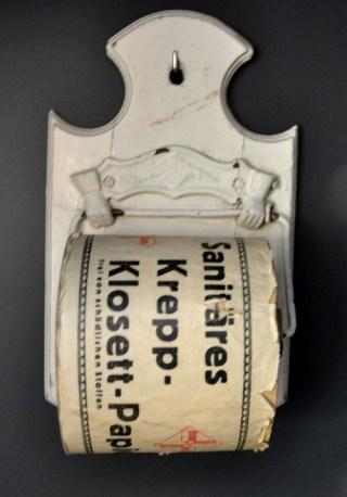 Toiletpapier uit 1900.