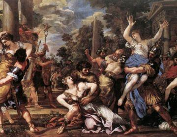 De Sabijnse Maagdenroof - Pietro da Cortona, 1627–29