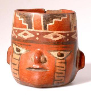 Aardewerk uit Peru.(Nationaal Museum van Wereldculturen)