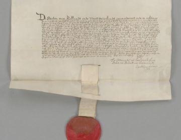 Akte van Seclusie (Nationaal Archief, Den Haag)
