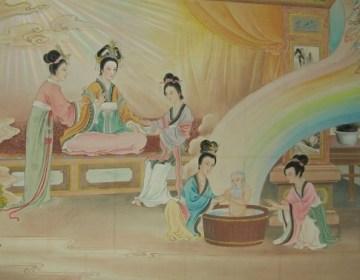 Taoïsme - De geboorte van Lao Zi (wiki)