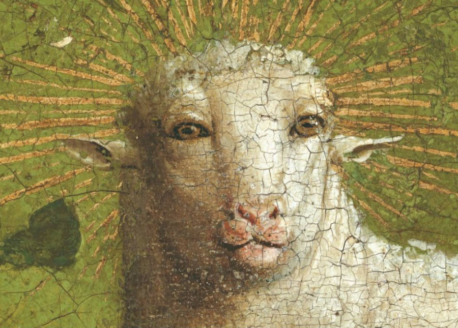 Restaurateurs leggen originele lam op  'Lam Gods' bloot
