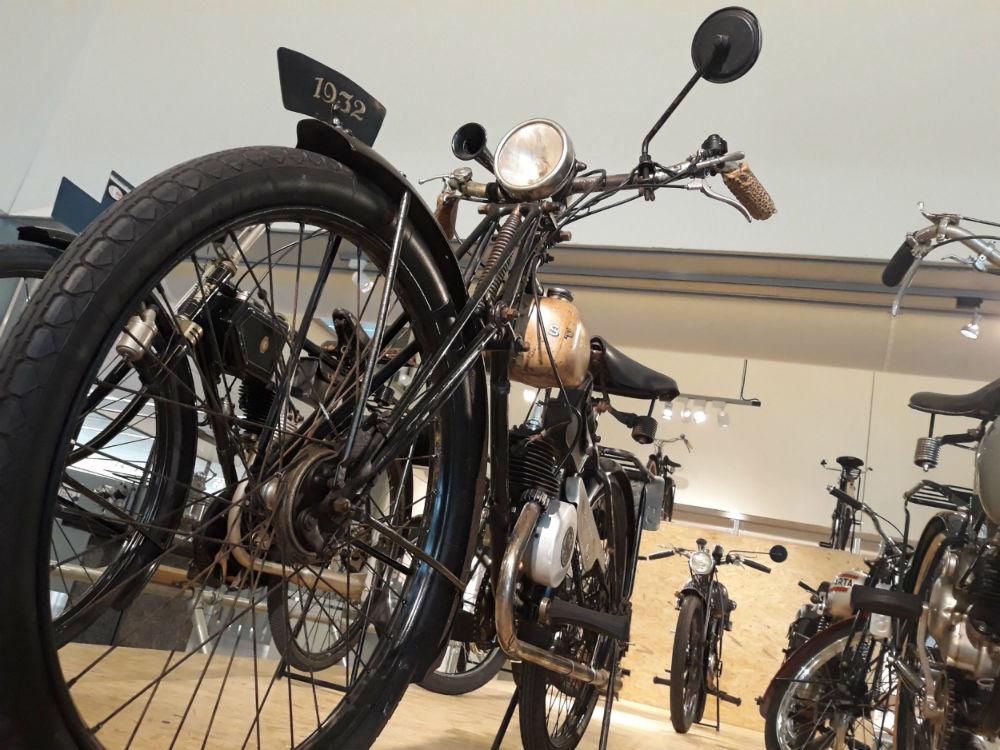 Sparta-motorrijwiel uit 1932, te zien bij CODA (Foto Historiek)