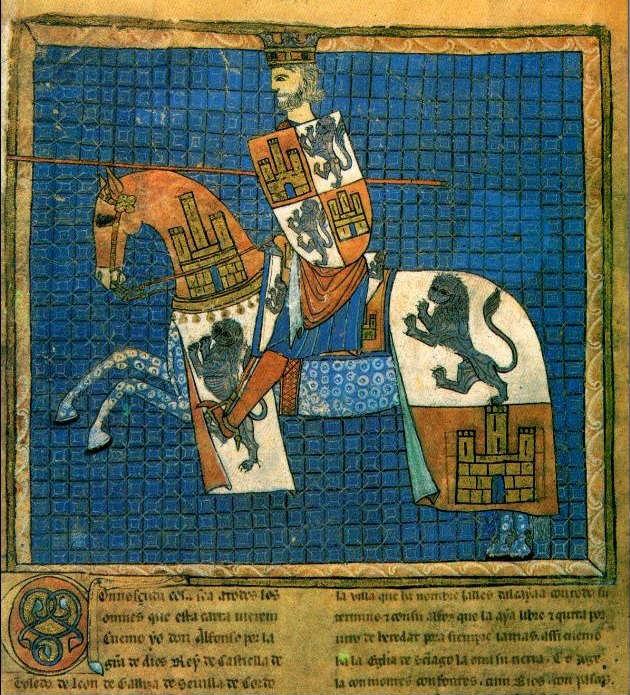 Alfons X van Castilië, de Wijze (1221-1284) - Publiek Domein / wiki