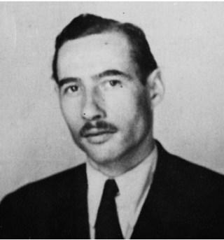 Foto van Heinz, genomen vlak na zijn aankomst in Australië. (National Archives of Australia). Uit: Van Kleermaker tot Kapo