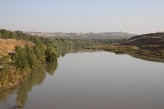 Diyarbakir en de Tigris