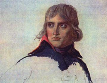 Napoleon in 1797, Jacques-Louis David