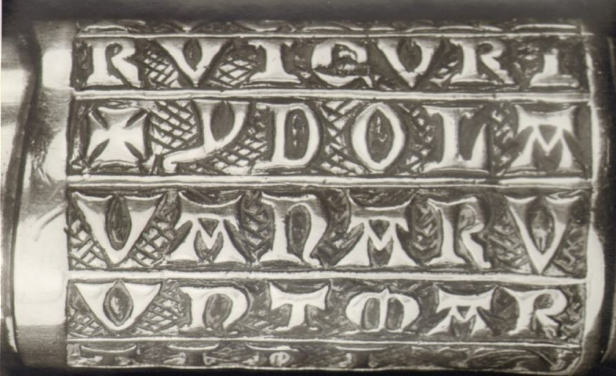 Inscriptie op de Maartenshamer (CC0 - Museum Catharijneconvent)