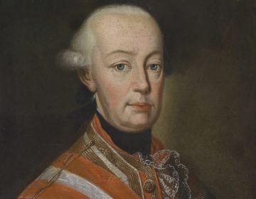 Portret van keizer Leopold II in veldmaarschalksuniform, ca. 1790.