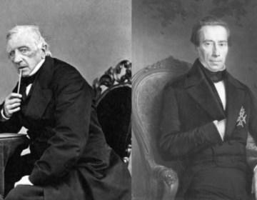 Dirk Donker Curtius (l.) en Johan Thorbecke (r.)