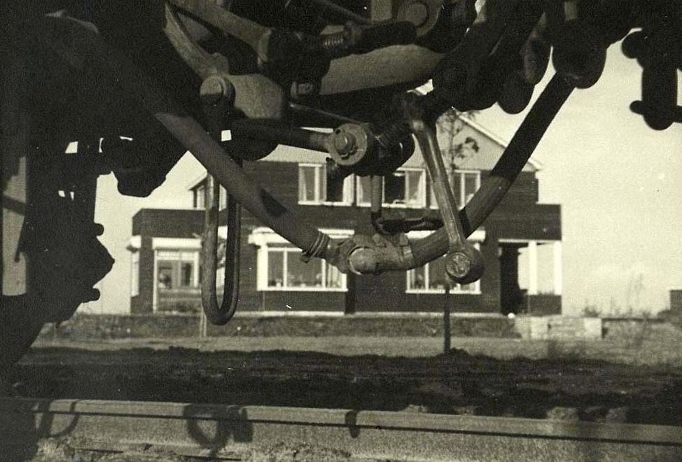 Het huis van kampcommandant Albert Gemmeker bij Westerbork - Beeld uit de film van Rudolf Breslauer (Publiek Domein - wiki)