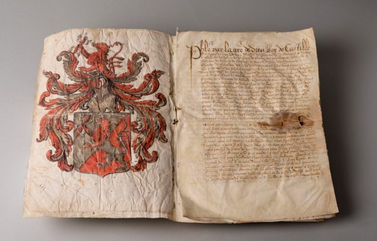 De beloningsbrief voor Balthasar Gerards (Koninklijke Bibliotheek)