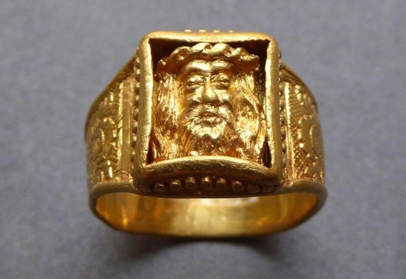 Gouden Middeleeuwse ring blijkt Veronicaring